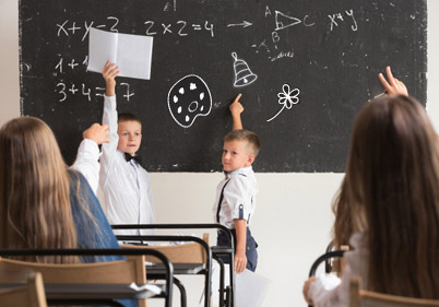 Идеи за визуелна поддршка во училница во редовно училиште