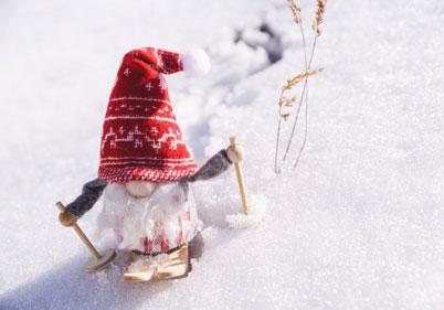 Лажен снег за сензорна игра