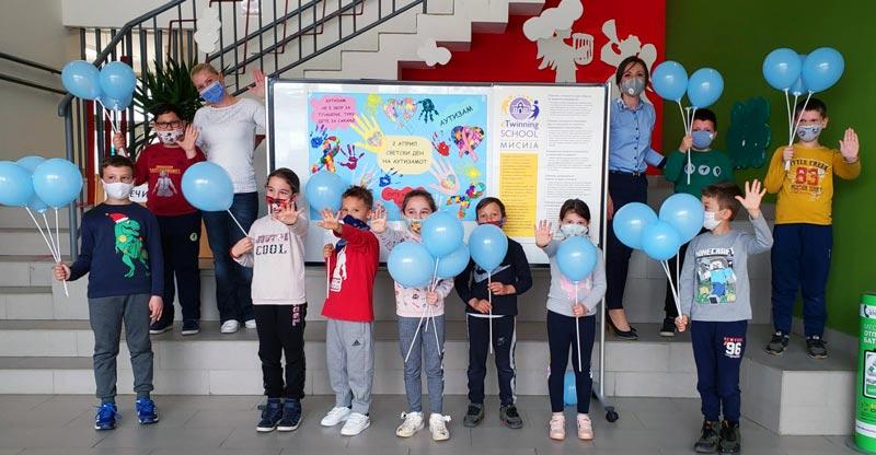 """ООУ """"Вера Јоциќ"""" го одбележа 2 Април Меѓународниот ден на лицата со аутизам"""